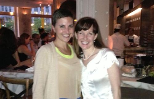 Joanne & Me celebrating at Trade