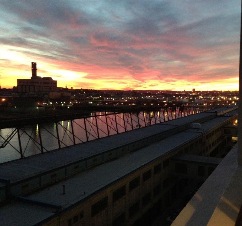 Southie sunset
