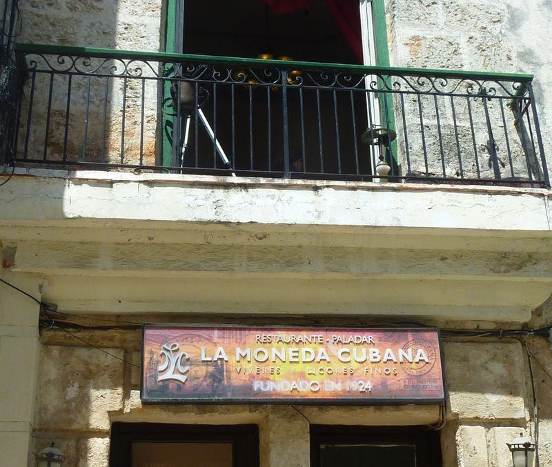 Paladar Moneda Cubana