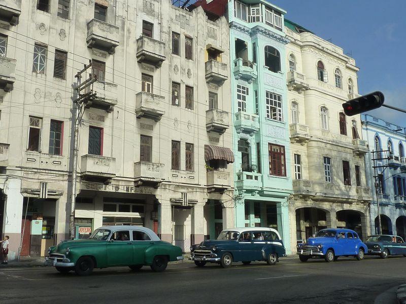 Cars in Centro Havana