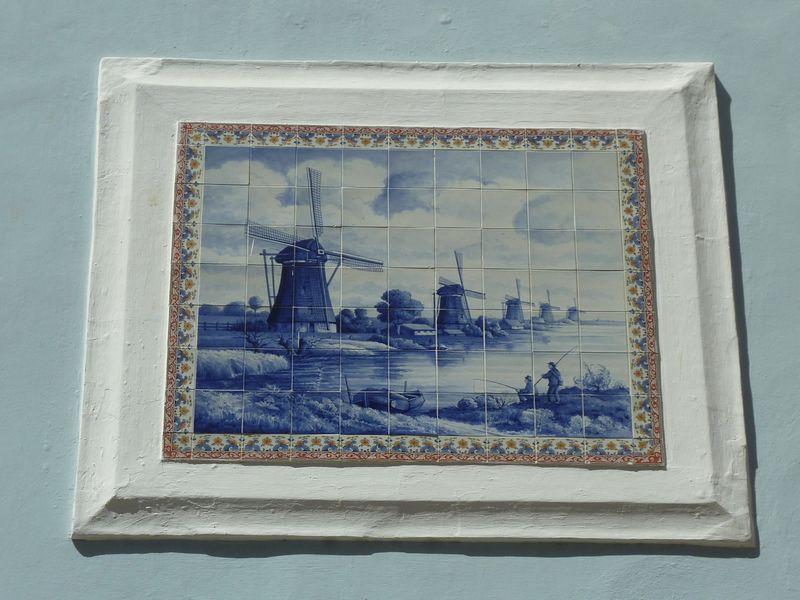 Blue Delft Tiles